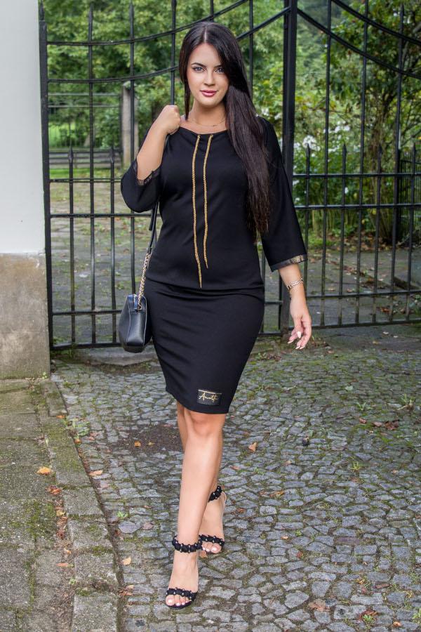 sukienka Anette czarna