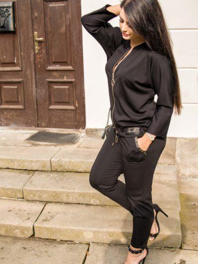 Eleganckie spodnie dresowe Anette