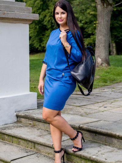 chabrowa sukienka Anette